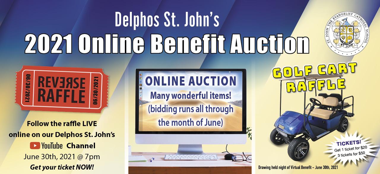 June 30th Online Auction Banner